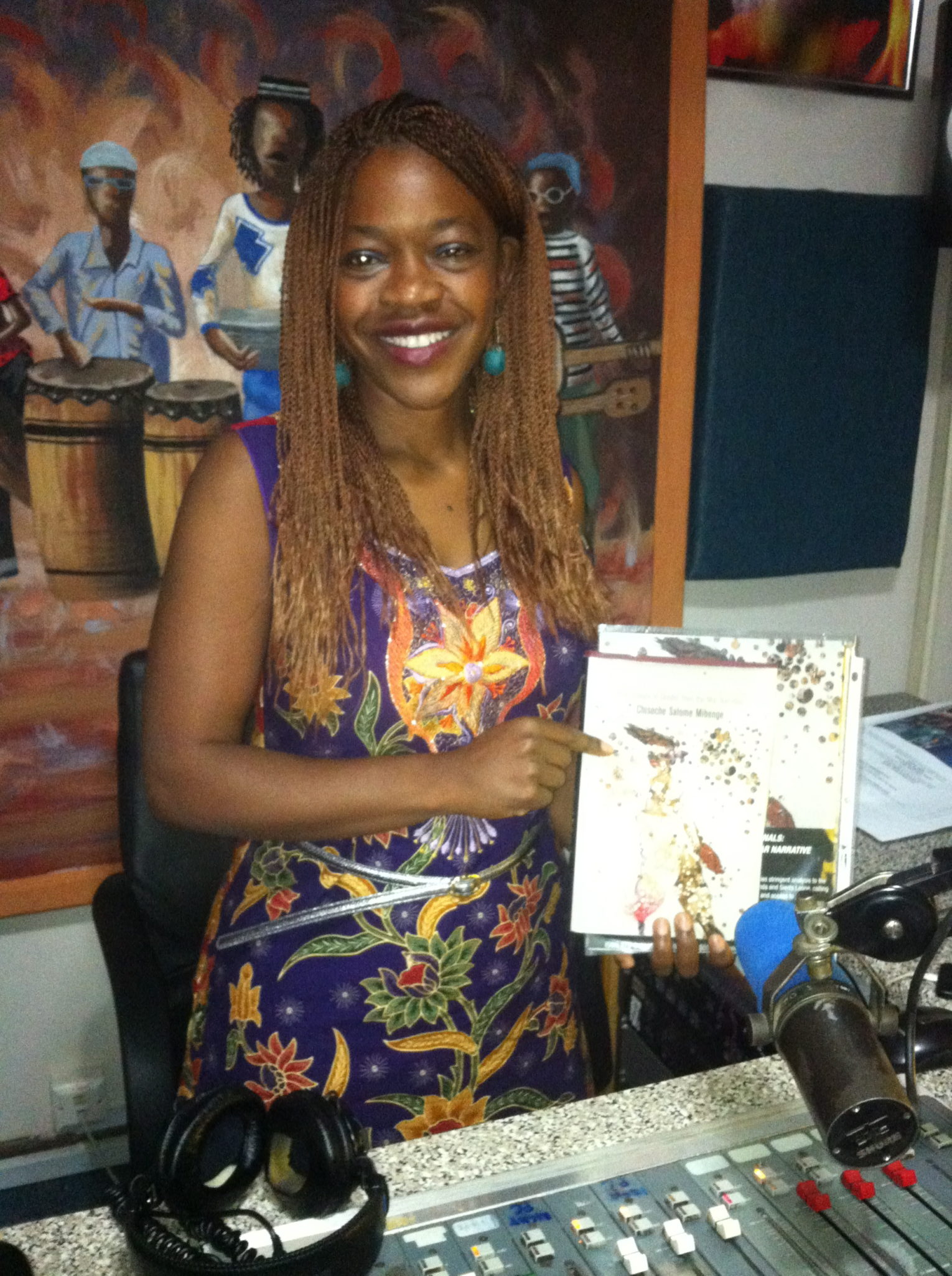 With my book Sex and International Tribunals: The Erasure of Gender from the War Narrative at Radio Phoenix with journalist Luciano Haambote