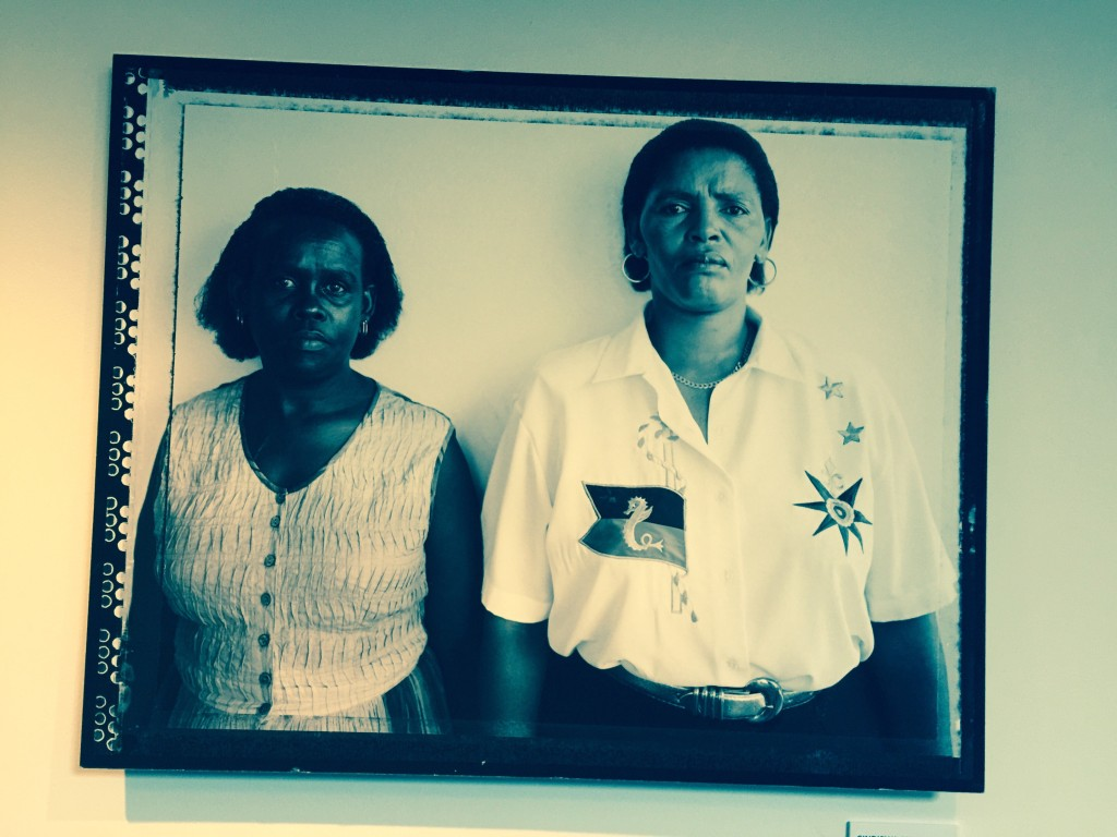 Widows of two of the Cradok Four photographed in Cradock1997 by Julia Edelstein